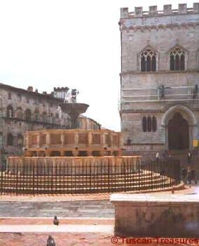 Fountain in Perugia